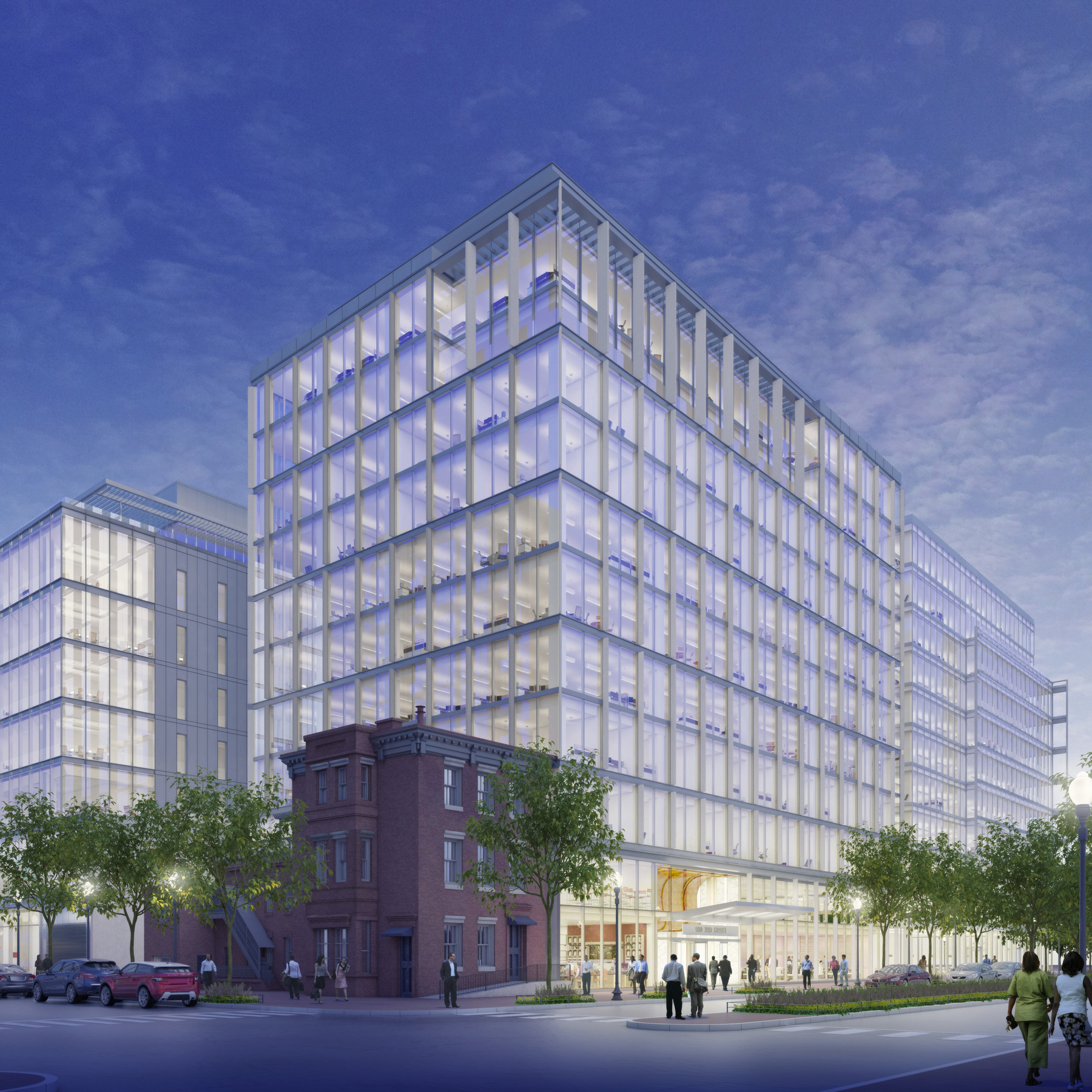 950 Third Street, Washington DC. Office space for lease.